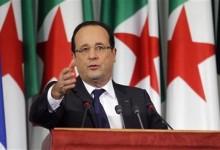 François Hollande, Alger