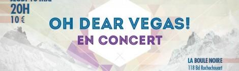 Jeu concours : Oh Dear Vegas !