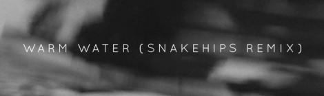 Banks – Warm Water (Snakehips Remix)